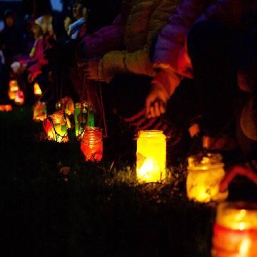Laboratorio nell'orto e passeggiata delle lanterne // Green Me Up