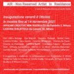 TRACCIATI AIR- Artist in Residence – Mostra